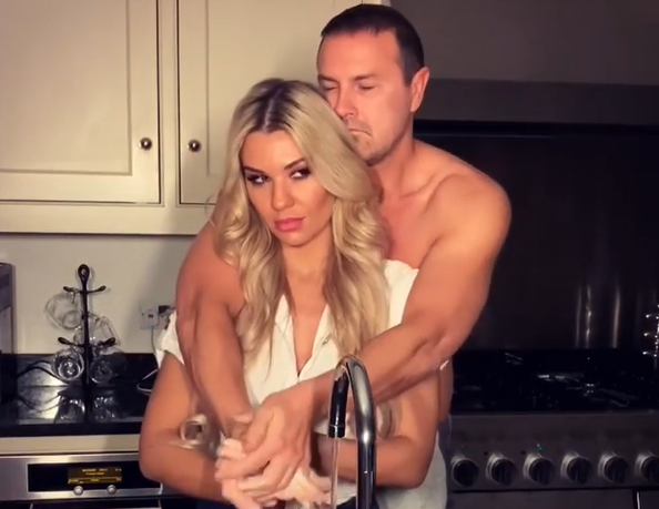 Paddy McGuinness posts the most dodgy hand washing video yet during lockdown, The Manc