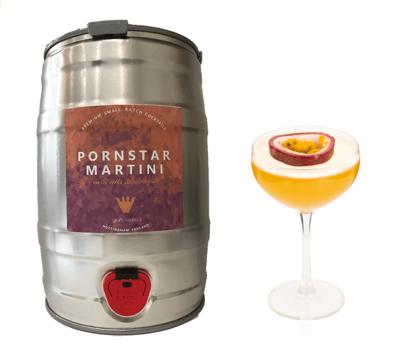 You can now get kegs of Pornstar Martini delivered to your door, The Manc
