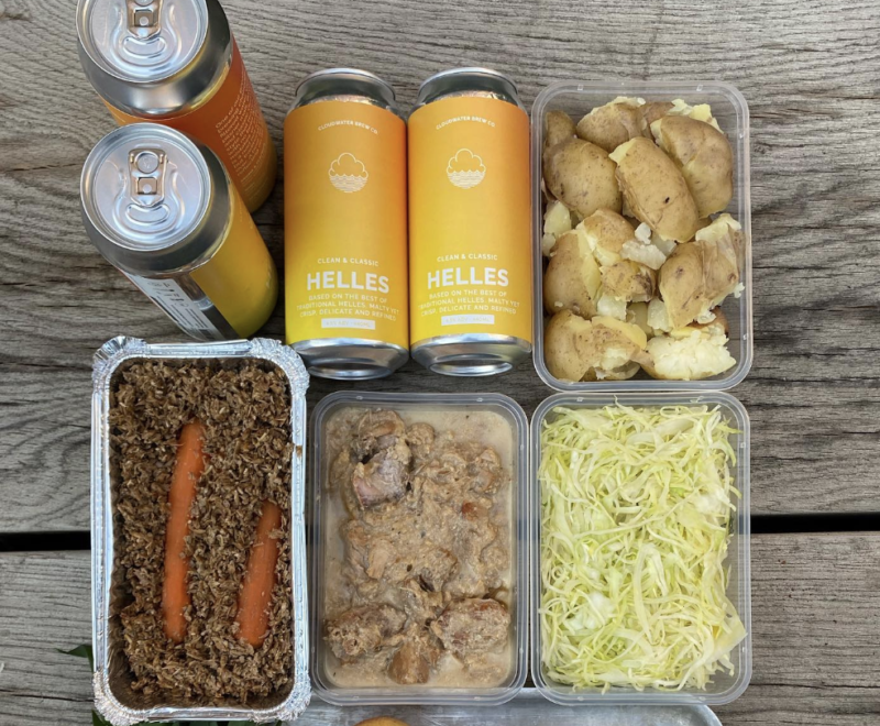 Higher Ground partner up with Cloudwater Brewery to deliver delicious food and drink combos, The Manc