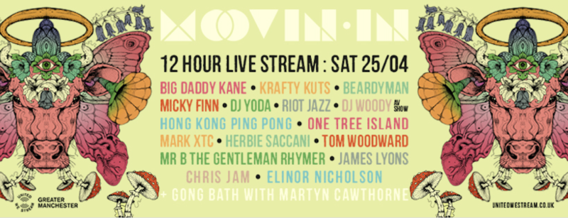 Moovin Festival is streaming a 12-hour online party this Saturday on United We Stream, The Manc