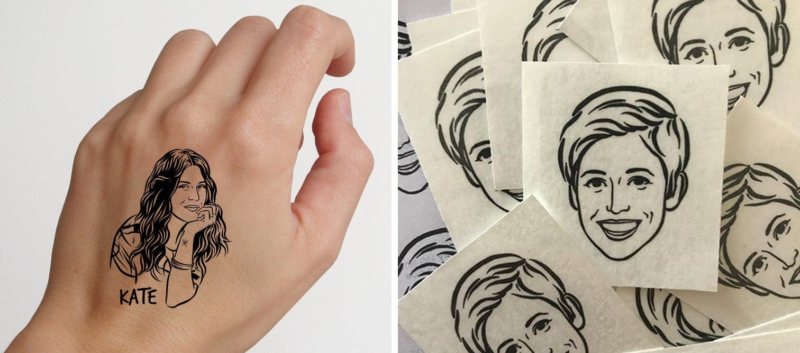 You can now get your best mate's face turned into a temporary tattoo, The Manc