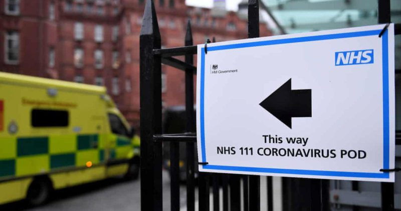 Number of confirmed COVID-19 deaths in UK rises by 569 to 2,921, The Manc