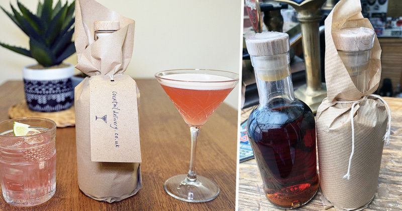 You can now get your favourite martini delivered to your door, The Manc