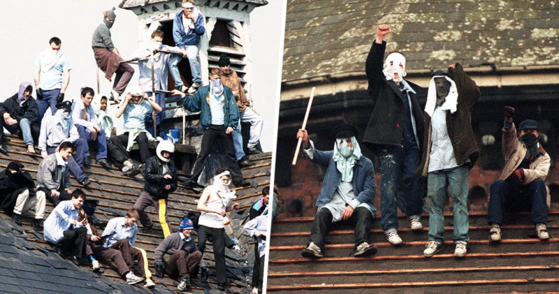 Booze, streakers and speakers: The Strangeways Riots was Madchester in the sky, The Manc