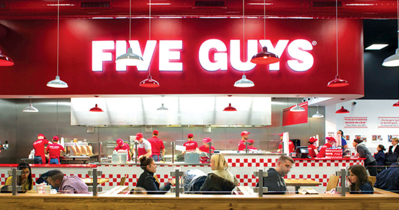 Five Guys has reopened a few of its UK stores for delivery and collection, The Manc