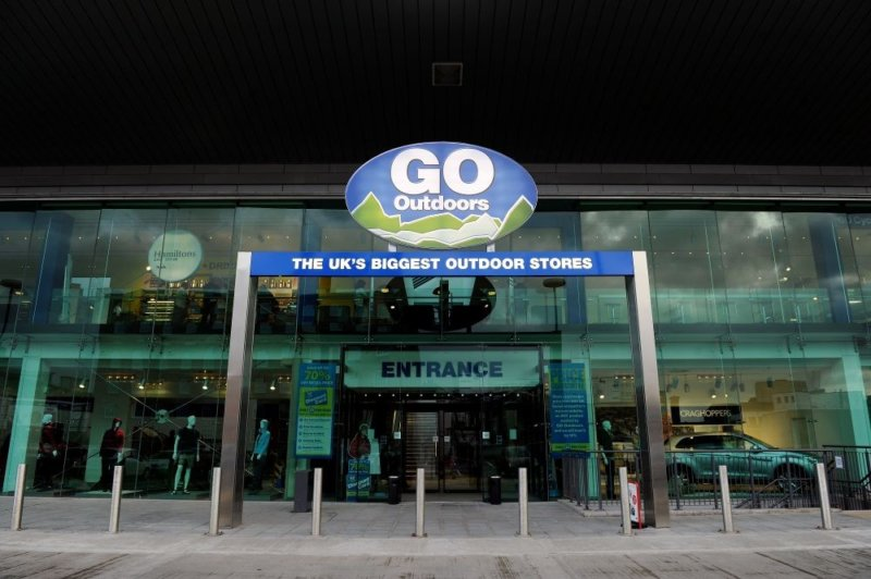 Camping store GO Outdoors change name to GO Indoors for lockdown, The Manc