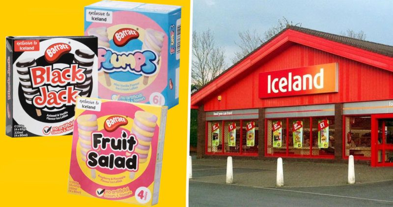 Iceland reportedly bringing out an exclusive range of Barratt ice lollies, The Manc