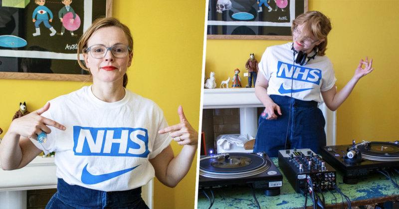 Mancunian actress Maxine Peake put on a mega DJ set for United We Stream last night, The Manc
