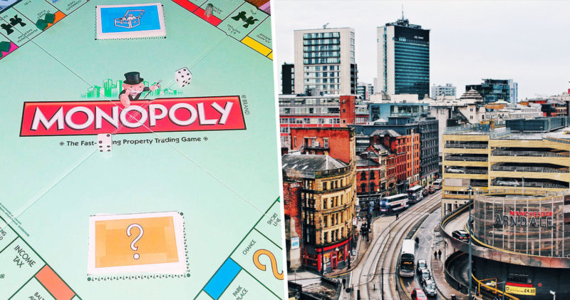 Manchester Lockdown Monopoly now exists and you can get it for free, The Manc