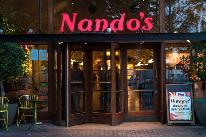 There's a Nando's in Manchester city centre now on Deliveroo for anyone to order, The Manc