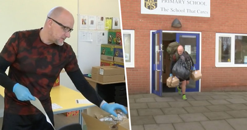 This assistant headteacher is 'saving the world' by delivering packed lunches, The Manc