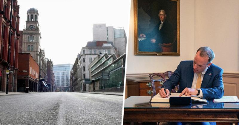 The alleged UK 'traffic light plan' for ending lockdown explained, The Manc
