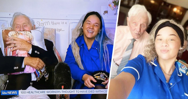 D-Day veteran Ken Benbow and his carer Kia leave the nation in bits after heartwarming video, The Manc