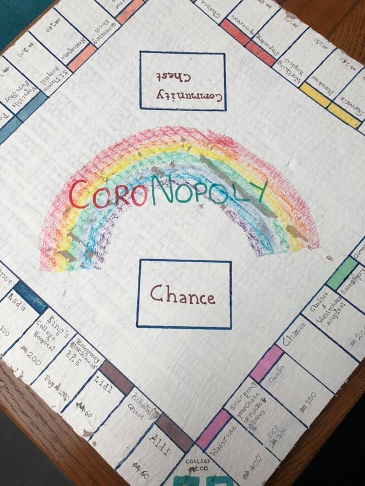 Kids create CoroNopoly, a lockdown-themed version of Monopoly, The Manc