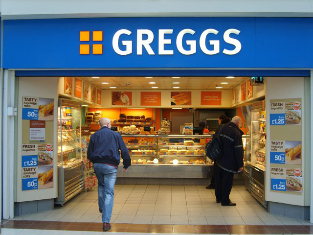 Greggs is back for delivery on JustEat in Manchester and there's no minimum spend, The Manc