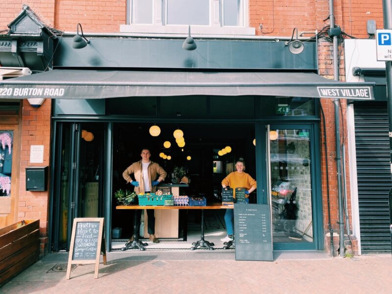 Another Heart To Feed: The fold-out cafe feeding Didsbury neighbourhood during lockdown, The Manc