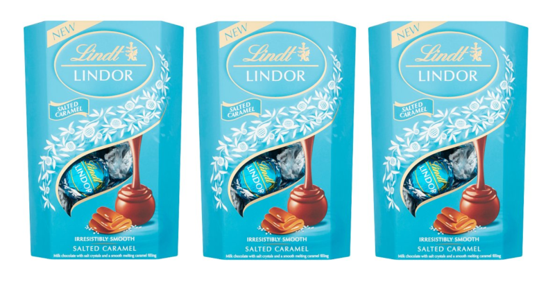 Lindt has just launched a new salted caramel Lindor truffle, The Manc