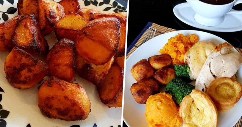 Man shares genius hack for the perfect roast potatoes using an OXO cube, The Manc
