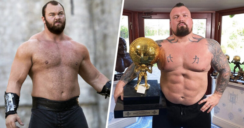 Eddie Hall is fighting The Mountain from Game of Thrones in a boxing match, The Manc