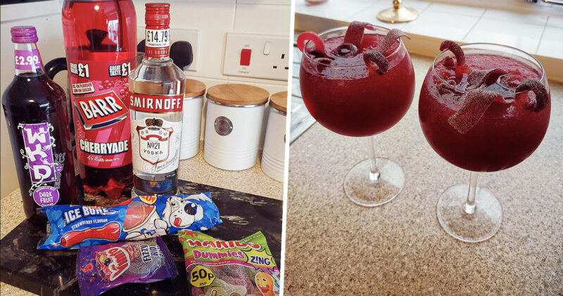 People have been making Vimto slush cocktails at home this weekend, The Manc
