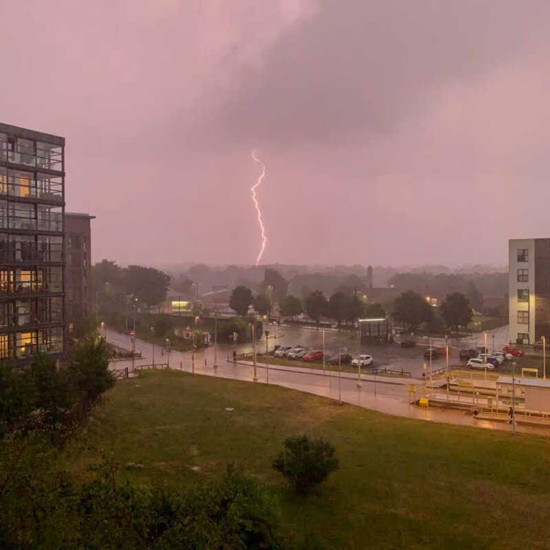 Yesterday's storm in Greater Manchester was captured by thousands of you, The Manc
