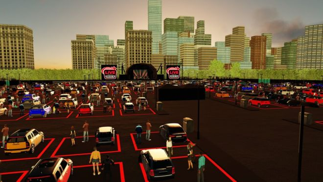 Live music to start again as drive-in gigs confirmed across Britain, The Manc