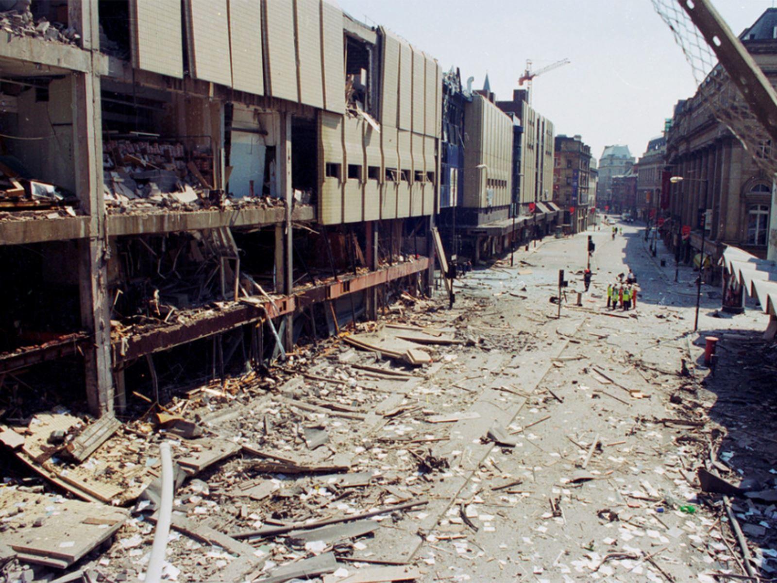 25 years ago, the IRA detonated a 1,500-kilogram lorry bomb on Corporation Street, The Manc