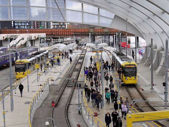 The Metrolink is changing as Manchester prepares to reopen its shops, The Manc