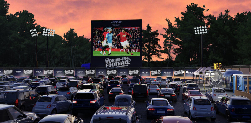 Manchester to host drive-in football events for return of Premier League fixtures, The Manc