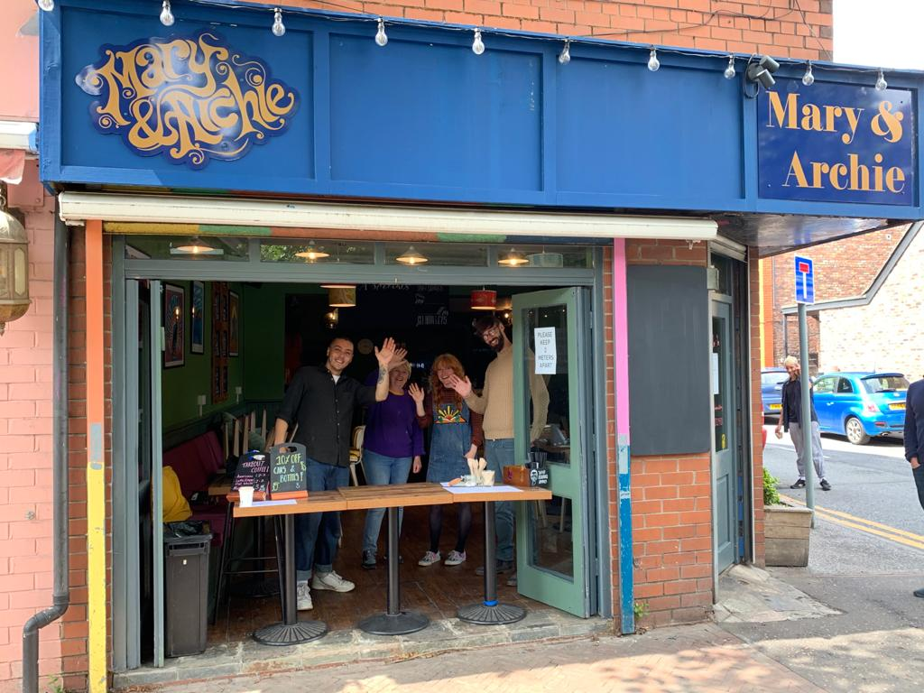 Burton Road favourite Mary & Archie reopens for takeaway service, The Manc