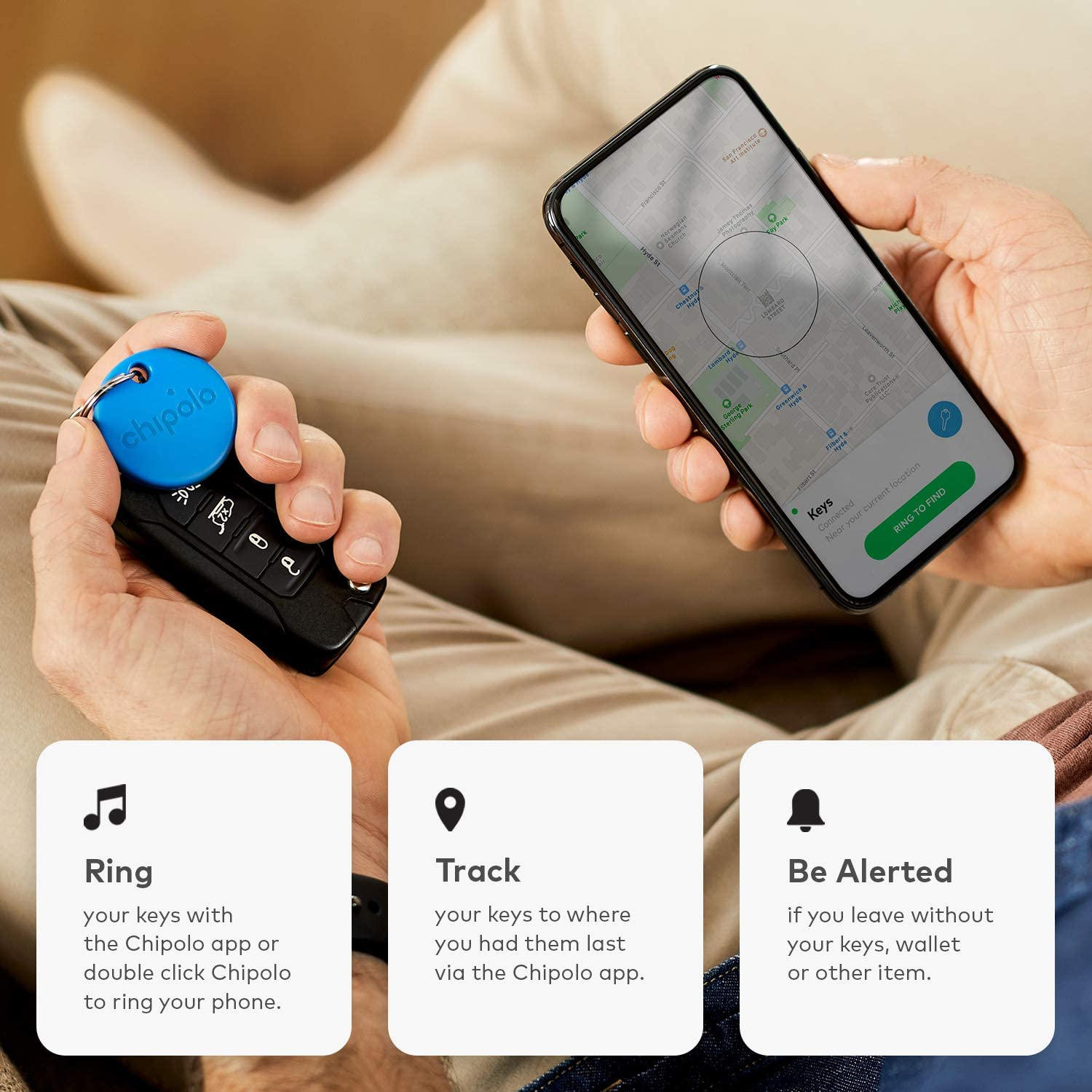 This little bluetooth keyring will help you never lose your keys again, The Manc