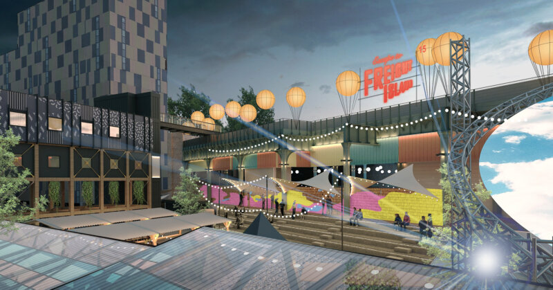 Incredible food and festival space, Escape to Freight Island, to open at Mayfield Depot in July, The Manc