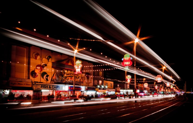 Blackpool Illuminations are being extended to the end of the year, The Manc