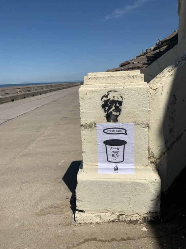 'I got 99 problems don't make the beach one' – flyers appear in Blackpool urging tourists to keep seaside clean, The Manc