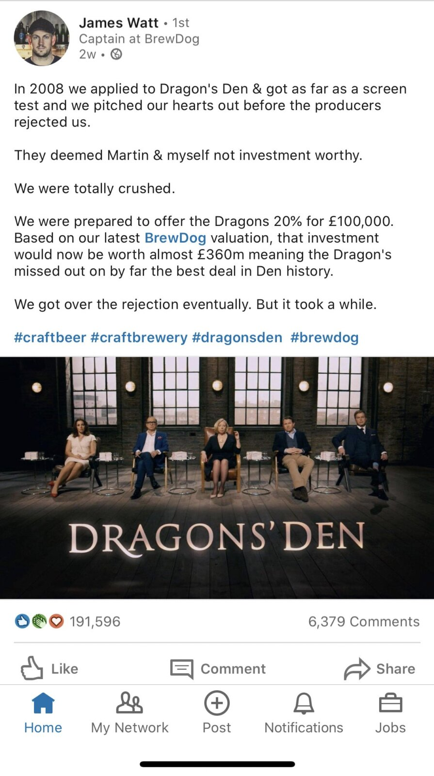 How BrewDog turned a rejection on Dragons' Den into a £1bn business, The Manc