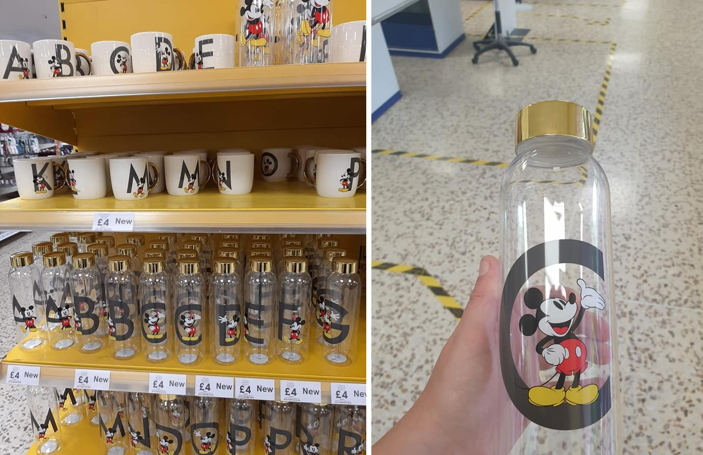 Tesco is selling personalised Mickey Mouse drinkware and Disney fans are loving it, The Manc