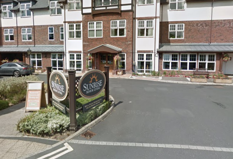 Care home in Stockport sets up safe drive-through so residents can enjoy visitors, The Manc