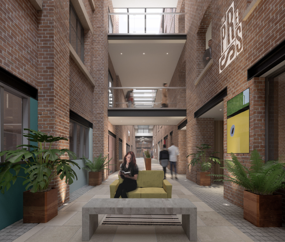 Manchester's all new Press building is proving to be seriously hot property, The Manc