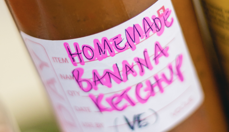 This Manchester-based chef is selling bottles of 'banana ketchup', The Manc