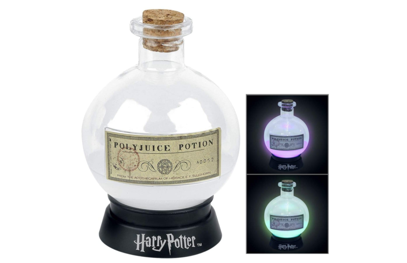 This Polyjuice Potion colour-changing lamp is perfect for Harry Potter fans, The Manc