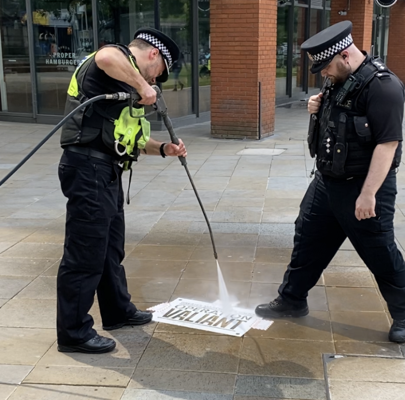 Greater Manchester Police relaunch 'Operation Valiant' to tackle robberies as shops begin trading, The Manc