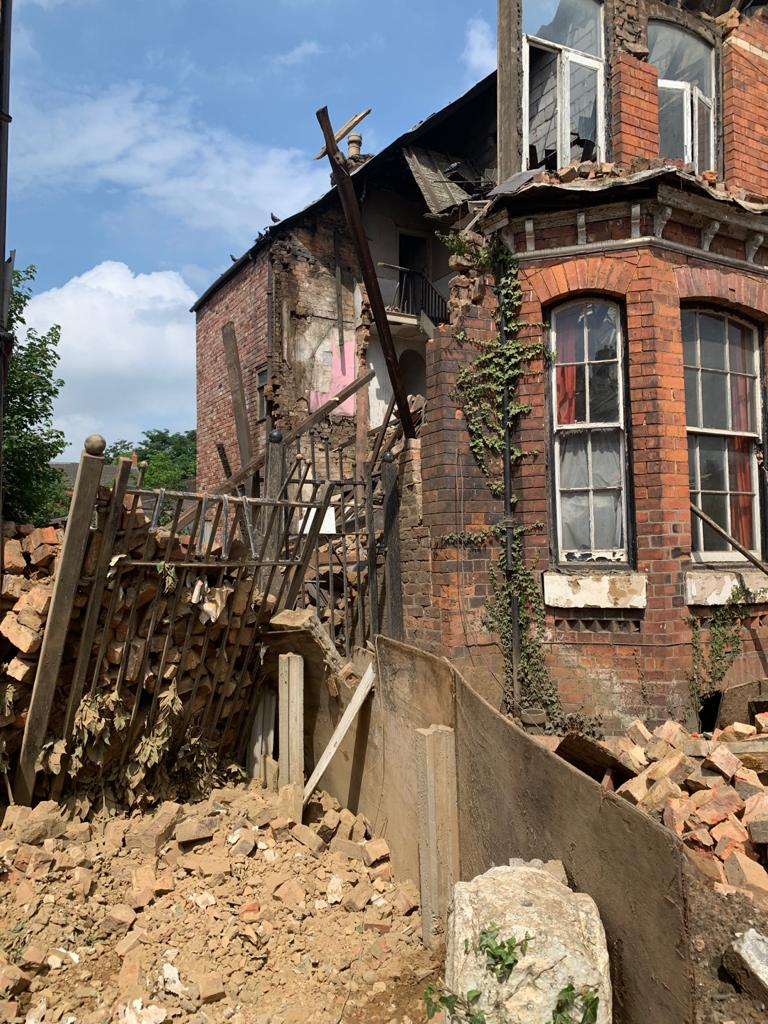 A house collapsed in Chorlton last night – here's everything we know, The Manc