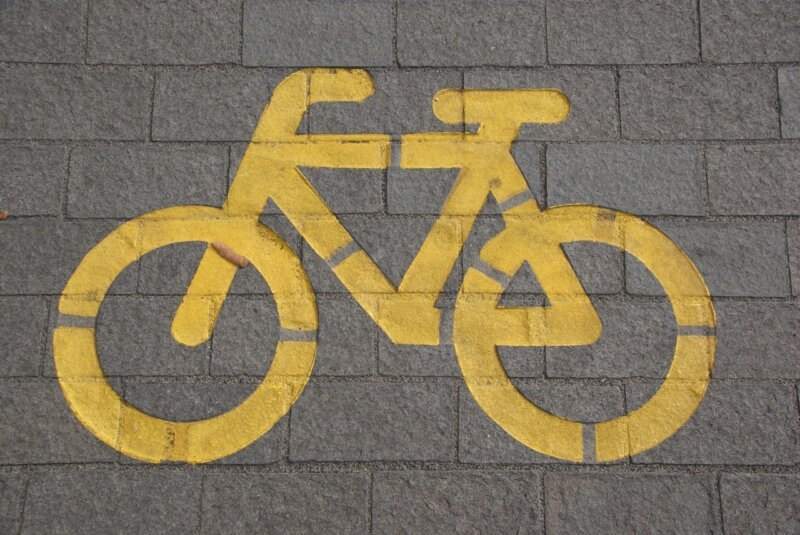 Popup cycle lanes have just made cycling into town much easier, The Manc