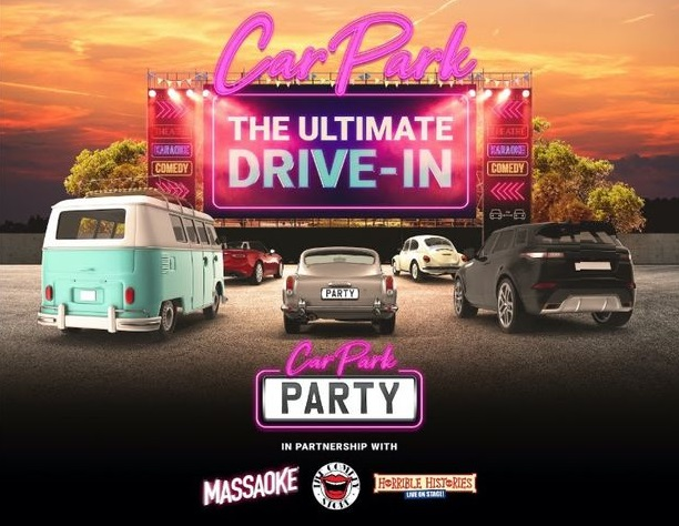 Trafford Centre to host a big drive-in car park party next month, The Manc