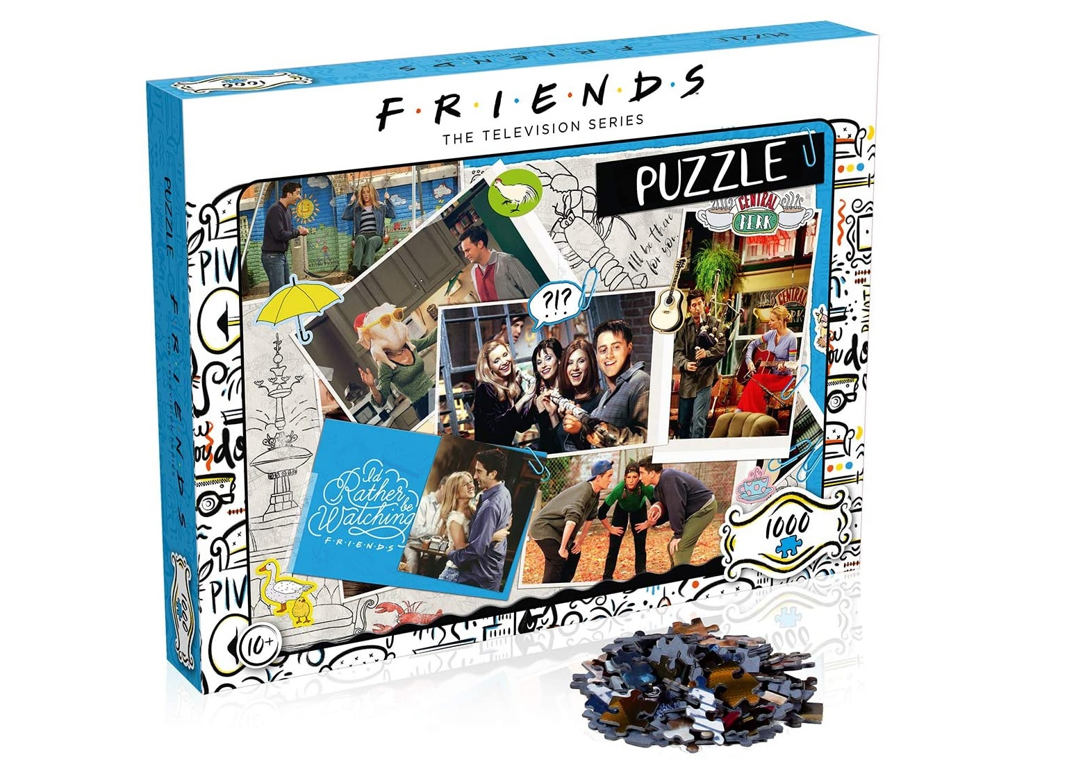 This 1000-piece jigsaw will keep any Friends fan entertained, The Manc