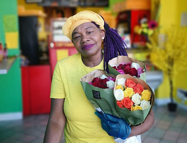 Stockport residents take to social media to share the love for 'community hero' Mama Flo, The Manc