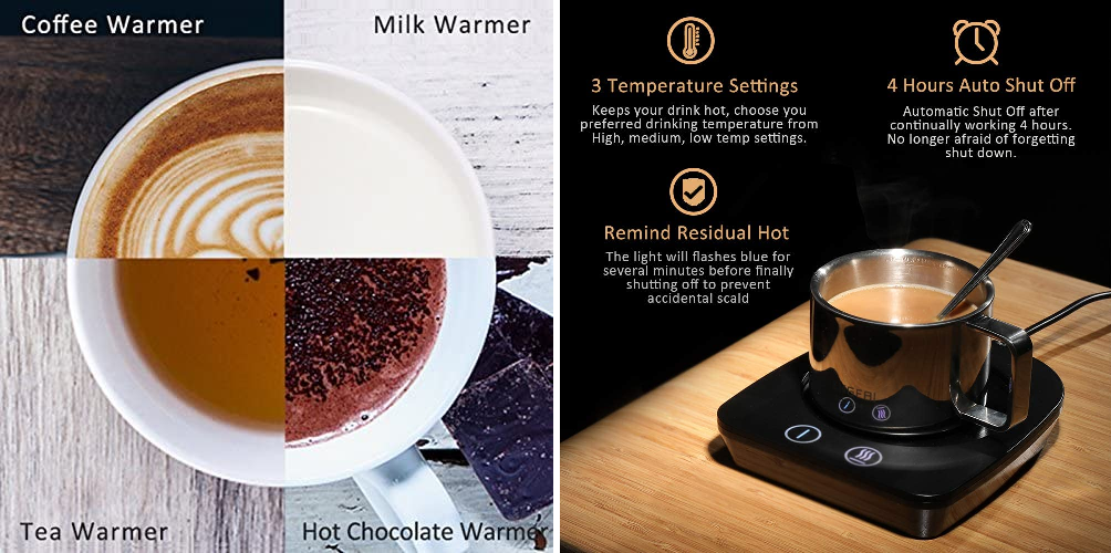 This electric mug warmer is perfect for when you forget about your brew, The Manc