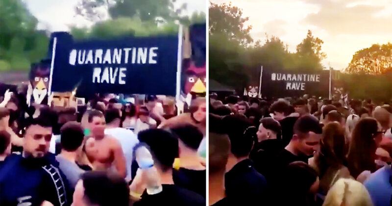 Police confirm grim details of yesterday's illegal raves in Greater Manchester, The Manc