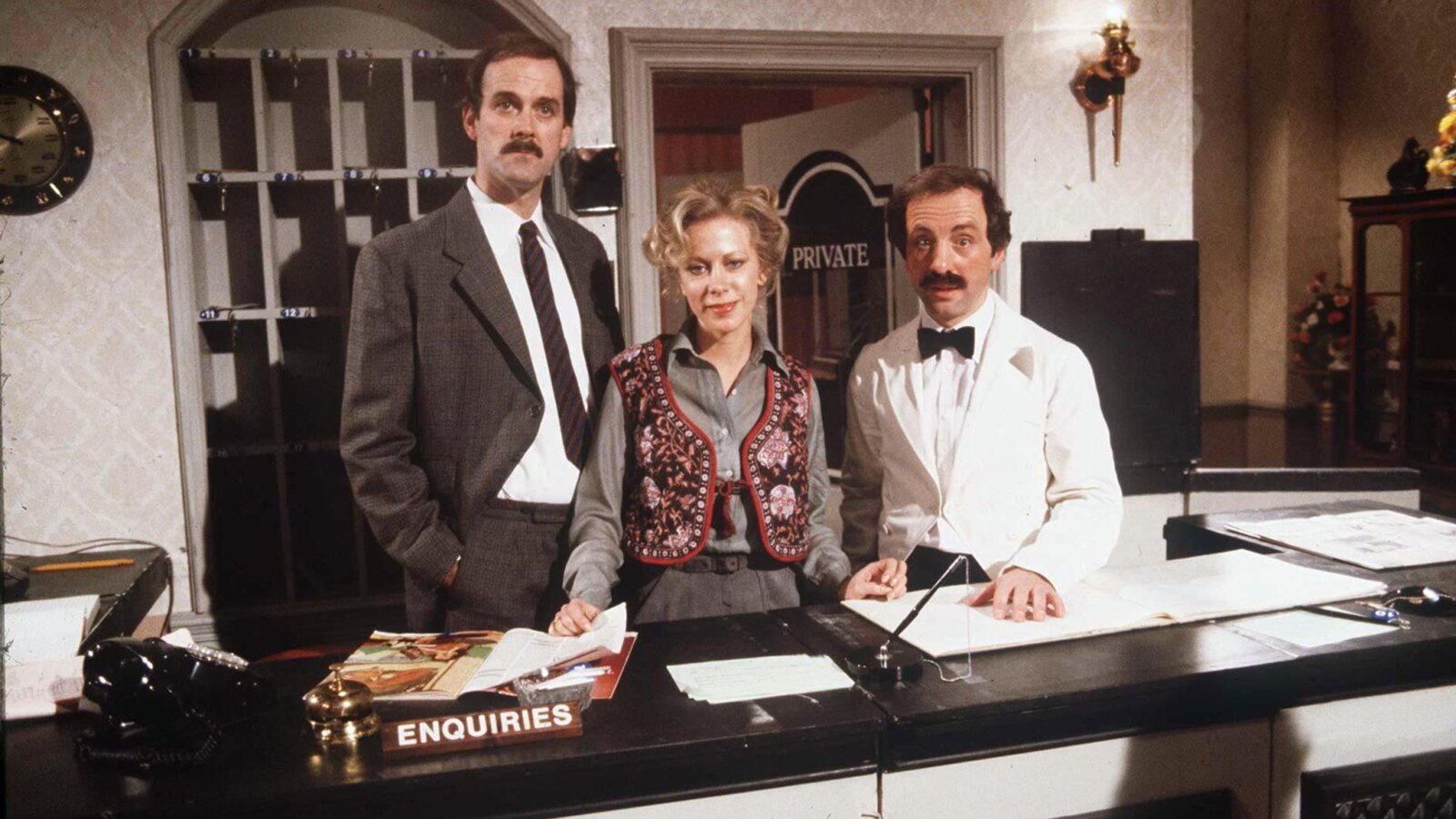 Fawlty Towers' famous 'don't mention the war!' episode temporarily removed from UKTV, The Manc