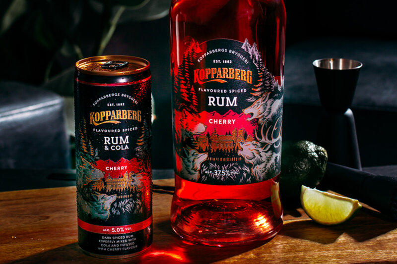 Kopparberg has just launched a new Cherry Spiced Rum, The Manc